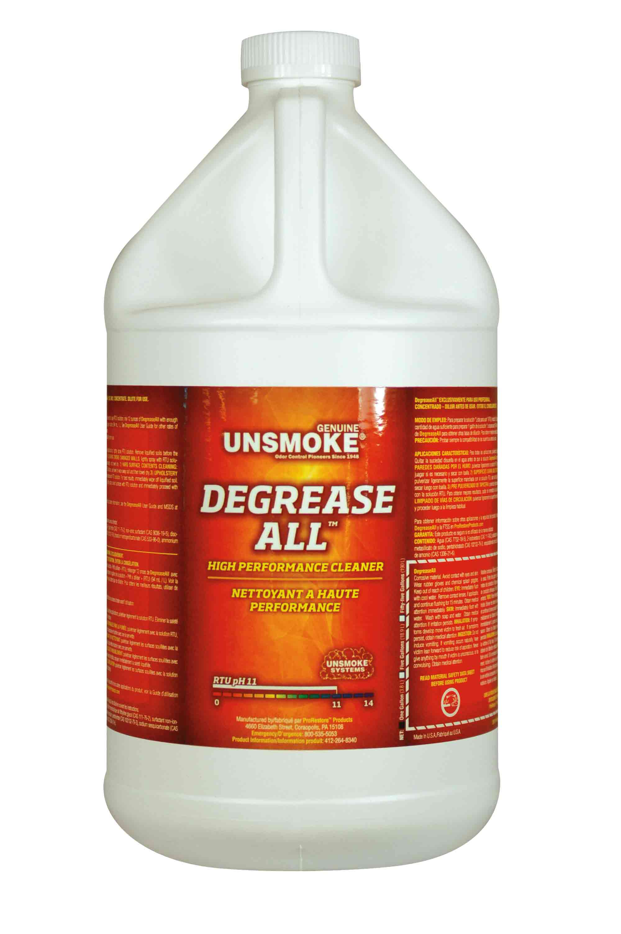 Unsmoke Degrease All