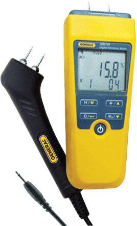 MM70D-Pin-Type LCD Moisture Meter w/Remote Pin-Type Probe