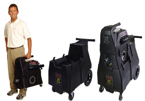 Rotovac CFX Portable Extractor