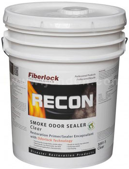 Fiberlock RECON Smoke Odor Sealer White