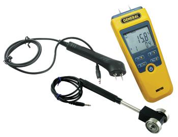 Pin/Pinless LCD Moisture Meter Kit