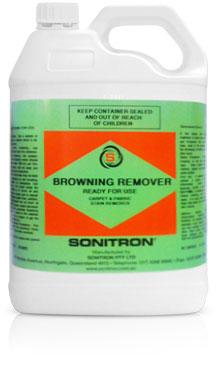Sonitron Browning Remover RFU 5LT