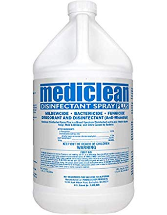 Mediclean Disinfectant Spray Plus-Lemon