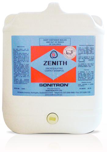 Zenith Encapsulating Carpet Shampoo 20L
